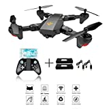 XS809 RC plegable Quadcopter Drone con Altitude Hold FPV VR Wifi Gran angular 720P 2MP HD Camera 2.4GHz 6-Axis Gyro Headless Mode XS809 Drone