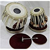 Akshar Tabla Mart Classical Still Sisam Wood Dayan Tablas with Bag Gadiset Hammar and PVC Khitti for Bayan Fitting