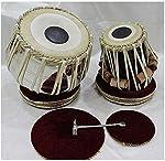 Akshar Tabla Mart Classical Still Sisam Wood Dayan Tablas with Bag Gadiset Hammar and PVC Khitti for Bayan Fitting