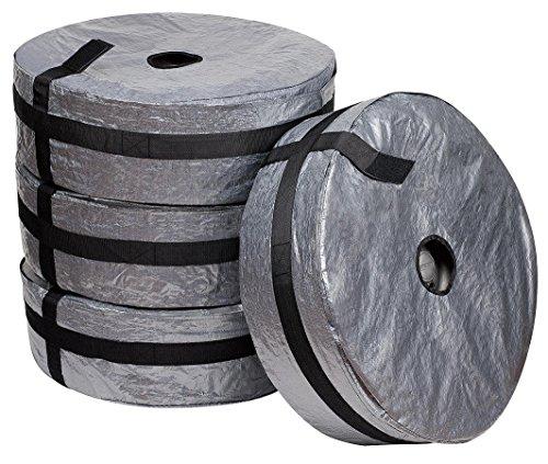 """4-teilig Set Reifentaschen Reifentüten Reifensäcke Reifenschutzhülle Plane Tarpaulin für Reifentypen 13""""-165mm bis 17""""-255mm (1)"""