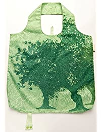 B.B.Begonia A80111420 Tree Of Life Printed Reusable Shopping Bag - 19.5 X 16.5 In. Pack Of 3