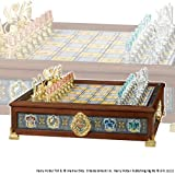 Noble Collection Quidditch Chess Set Silver & Gold Plated