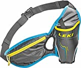 LEKI Prime Trinkgurt, Anthracite/Cyan/Neon Yellow, One Size