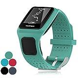 iFeeker Zubehör Ersatz Soft Silikon Gel Uhrenarmband Armband Sport Armband für TomTom GPS Sportuhr...
