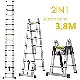 Best escalera - Fixkit 3.8M Escalera Telescópica de Aluminio Portátil Multiuso Review