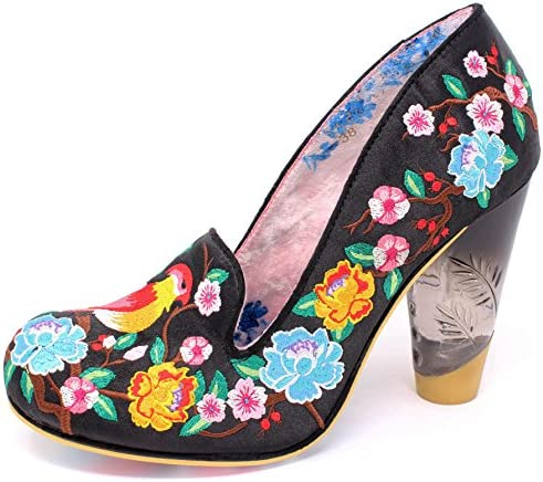 Irregular Choice Zapatos de Vestir de Material Sintético para Mujer