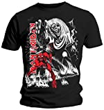Iron Maiden Number of The Beast Camiseta Negro L