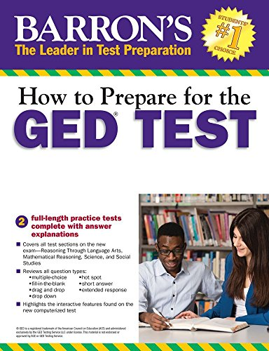 How to Prepare for the GED Test with CD-ROM, 2nd Edition (Barron's Ged (Book Only))
