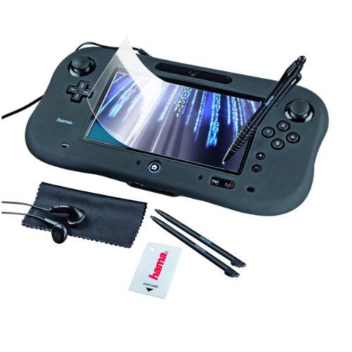 Hama 8-in-1 Starter-Set für Nintendo Wii U schwarz (Kit Wii Starter)