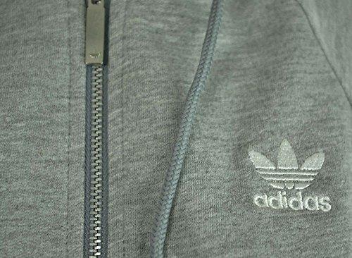 Adidas Crop W Hooded Zipper Grey Heather