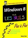 Windows 8 Pas � Pas Pour les Nuls