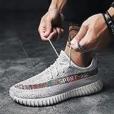 YYAMO Los Hombres Sneakers Zapatos Deportivos Calzado Casual Transpirable Yoga Viajes De Equitación Gimnasia Fitness para Correr Al Aire Libre Caminando Productos Zapatillas,43,como Se Muestra