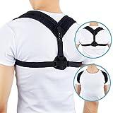 Blackroll Posture Haltungstrainer | Geradehalter zur Haltungskorrektur Rücken, Schulter | Schulterhaltung Schlüsselbein Back Corrector | Haltungsbandage Korrektur Universal für Damen und Herren
