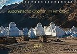 Buddhistische Chörten im Himalaya (Tischkalender 2019 DIN A5 quer): Chörten im Himalaya - buddhistische Kultbauten (Monatskalender, 14 Seiten ) (CALVENDO Natur)