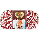 Lion Brand Yarn Company 1-Piece Hometown USA Yarn, Razorbacks