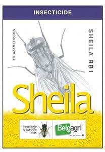 BELGAGRI Sheila : Granulés Insecticide Professionnel Tue-mouches ultra efficace - Utiliser par les Pros dans les étables, box,...! Tout un été sans mouche