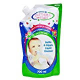 #3: Camera Baby Bottle And Nipple Liquid Cleanser for Fruits, Bottles,sippers, Accessories & Toys (700ml Refill pack)