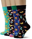 Happy Socks Gemischt farbenfrohe Geschenkbox an Baumwollsocken für Männer und Frauen,Junkfood (bunt),41-46