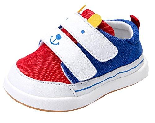 la-vogue-bebes-unisex-zapatos-de-deportivo-primavera-talla-22-longitud-de-zapatos-145cm-rojo-blanco-