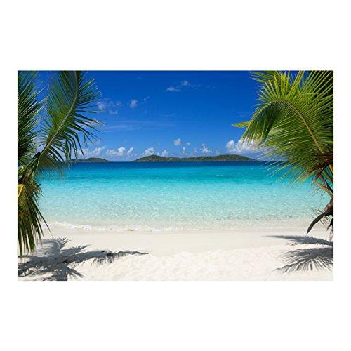 Bilderwelten Fotomural - Perfect Maledives - Mural apaisado papel pintado fotomurales murales pared papel para pared foto 3D mural pared barato decorativo, Dimensión Alto x Ancho: 190cm x 288cm