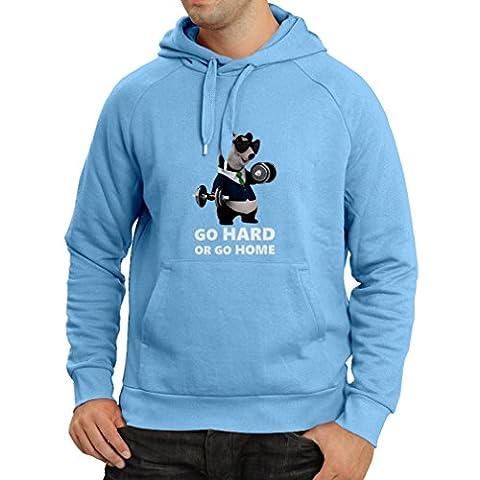 Sweatshirt à capuche manches longues
