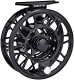 KastKing Kobuk Fly Fishing Reel with Large Arbor, CNC machined T6061 Aluminum Alloy Body and Spool in Fly Reel Sizes 3/4, 5/6, 7/8, 9/10 - Light Weight yet Incredibly Strong