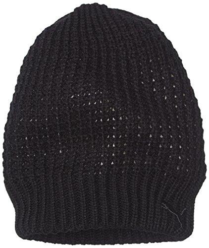 PUMA Mütze Chunky Knit Beanie, Black, One size, 830142 01