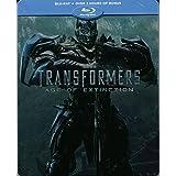 Transformers 4: Ära des Untergangs - Limited Edition Steelbook Steelbook Blu-Ray (Deutsch, Englsch/English, Französisch u.a.) (Limited Blu-ray Steelbook Edition) NL-Import mit deutschem Ton,