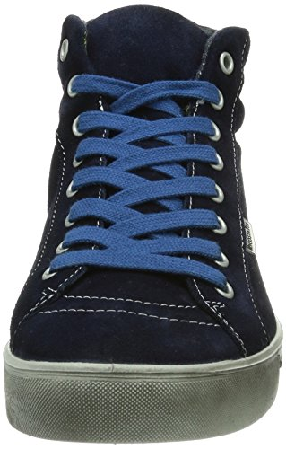 Ricosta - Stivali Janto M Black, Uomo Blu (Blau (nautic 160))