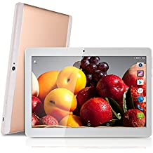 'NEW 10pulgadas (10,1) 25,54cm Tablet PC Octa Core 1280x 800IPS Bluetooth RAM 2GB ROM 32GB 8.0mp 3G Dual SIM Phone Call Android 7.0GPS rose gold