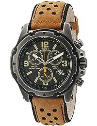 Timex Herren Expedition tw4b01500Gunmetal Analog Quarz Leder Kleid Armbanduhr