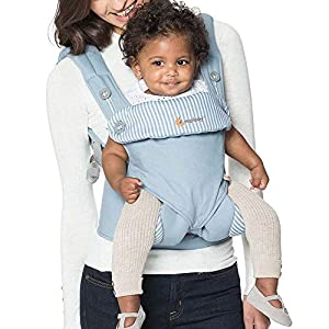 Ergobaby 4 Position 360 Baby Carrier, Azure   1