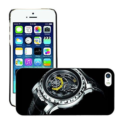 negro-rigido-funda-de-proteccion-para-m00049495-ulysse-nardin-reloj-black-ultrapulley-apple-iphone-5