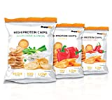 Protein Chips – Eiweiß Fitness Snack Mix Box 6x50g Von Supplify – Whey Proteinpulver und Protein Riegel Ersatz in 3