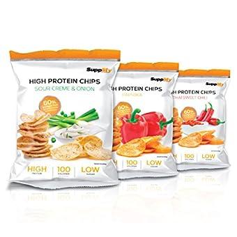 High Protein Chips Supplify