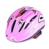 #5: Leoie Skateboarding Safety Helmet for Boys and Girls (Pink)