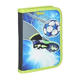 Spirit Estuche Escolar Fußball Goal, con Cremallera