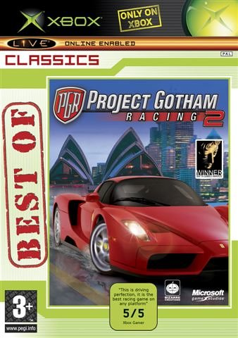 Project Gotham Racing 2 - Best of Classics (Xbox)