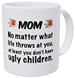 TK.DILIGARM Mommy Est 2019 Mug - Proud New Mom to Be - Expecting Mother Mugrs s Are Sentimental Gifts for Expectant Parents - Cute Christmas Stocking Stuffer - 11 oz Coffee Tea Cup