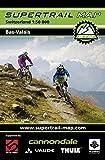 Supertrail Map Bas-Valais: Maßstab 1:50 000