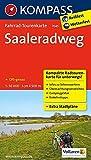 Fahrrad-Tourenkarte Saaleradweg - Von Münchberg nach Schönebeck (Elbe): Fahrrad-Tourenkarte. GPS-genau. 1:50000.: Fietsroutekaart 1:50 000 (KOMPASS-Fahrrad-Tourenkarten, Band 7045)