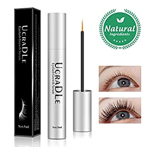 Eyelash Serum, Lash Enhancer Serum Eyelash Booster for Longer, Fuller Eyelashes - Irritation Free Formula Lash Advanced - Eyelash Growth Serum (Upgrade)