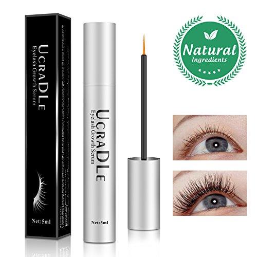 Eyelash Serum, Lash Enhancer Serum Eyelash Booster for Longer, Fuller Eyelashes - Irritation Free Formula Lash Advanced - Eyelash Growth Serum (Upgrade)