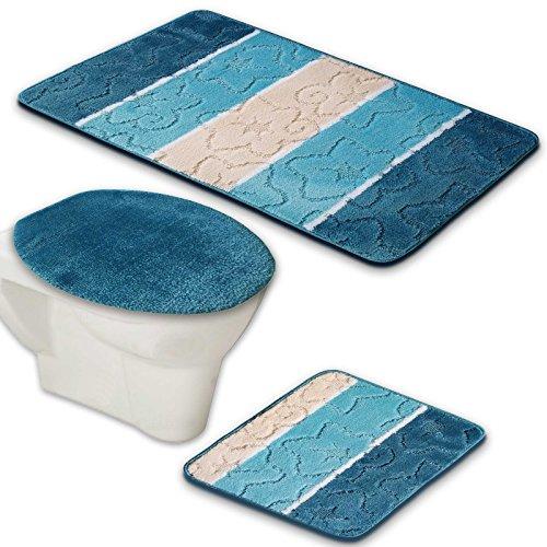 WC-Garnitur aus Acryl