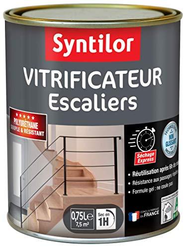 Syntilor - Vitrificateur Escaliers Incolore Mat 0,75L