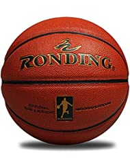 RONDING PU Standard Basket-Ball Intérieur ou extérieur pour Homme Basketball Training Jeu Match