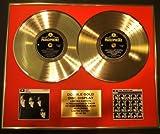 THE BEATLES/Zweifache Goldene Schallplatte DISPLAY/Limitierte Edition/COA