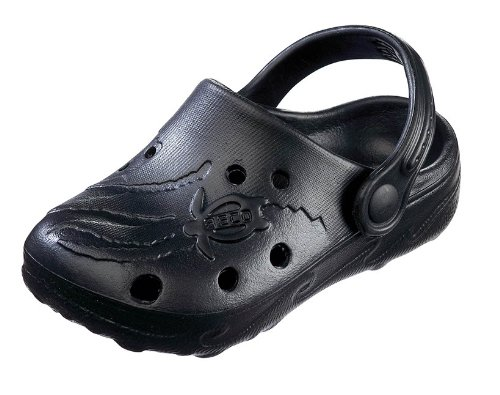BECO Kinderclogs / Badeschuhe Schildi schwarz 26