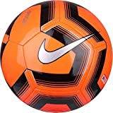 Nike Pitch Training, Pallone da Calcio Unisex - Adulto, Total Orange/Black/(Silver), 5