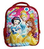 #9: Worldcraft 3D Princess 13 inch Red Waterproof Children's Backpack (Pre School)